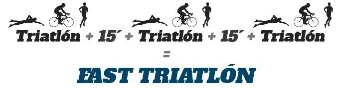 que es la modalidad de fast triatlón