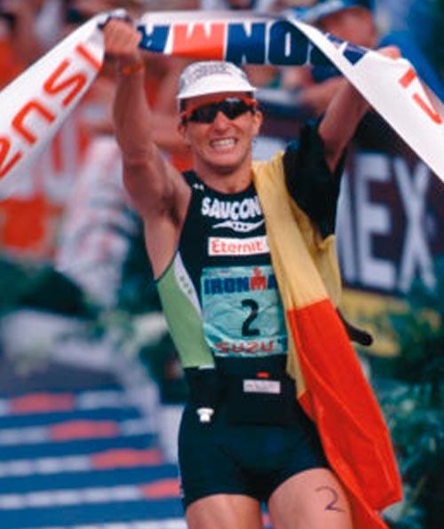 Luc Van Lierde primer europeo de la historia del triatlon ironman de hawaii