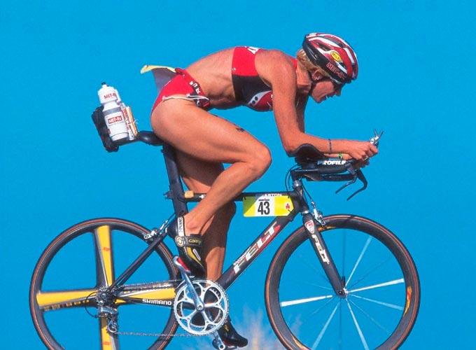 Paula Newby-Fraser la mejor triatleta de la historia del triatlon ironman de hawaii
