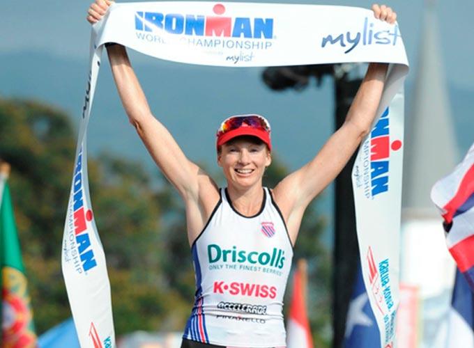 leanda cave parte de la historia del triatlon ironman de hawaii 2012