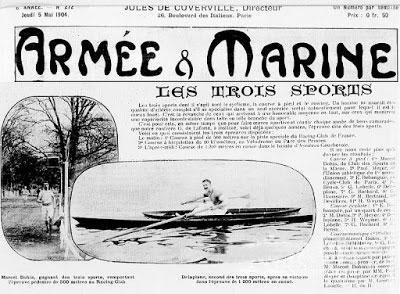 historia del triatlon imagen periodico les trois sports