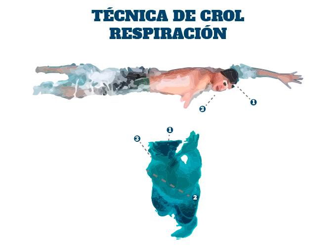 Técnica de Crol en Triatlón: la respiración