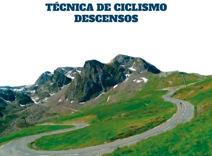 técnica de ciclismo en triatlón los descensos de puertos