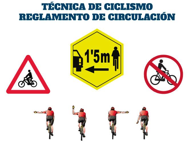 técnica de ciclismo en triatlón y las normas de circulación en carretera
