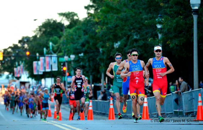 entrenamiento de la técnica de carrera en triatlón