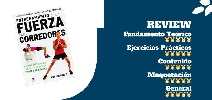 mejores libros de entrenamiento de técnica de carrera libro Entrenamiento De La Fuerza Para Corredores