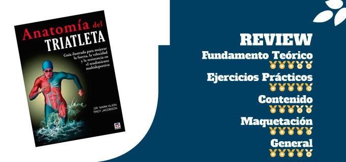 mejores libros de entrenamiento de triatlón libro anatomía del triatleta