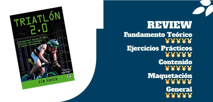 mejores libros de entrenamiento de triatlón triatlón 2.0