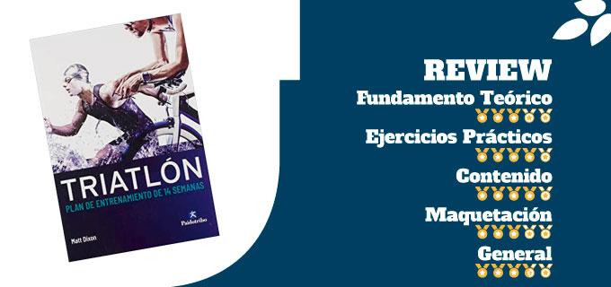 mejores libros de entrenamiento de triatlón libro triatlón plan de entrenamiento de 14 semanas