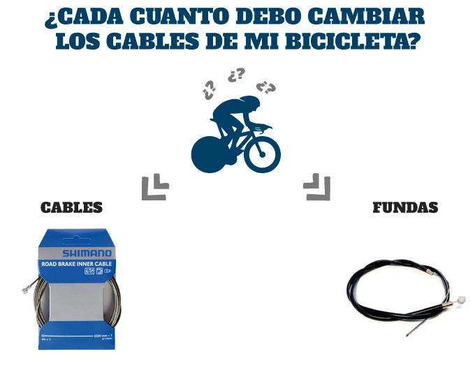 ¿Cada cuanto debo cambiar los cables de mi bicicleta de carretera?