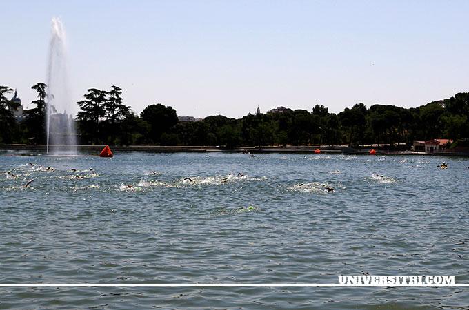 la natación en aguas abiertas en lagos