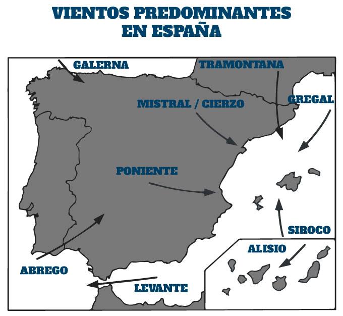 los vientos de España en natación en aguas abiertas